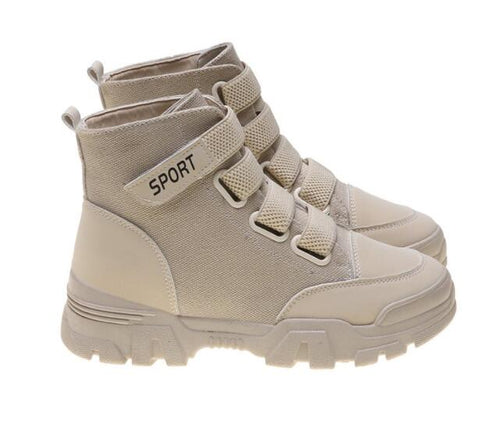 Autumn Winter Women Ankle Boots New Fashion Woman Snow Boots for Girls Ladies Work Shoes High Top Sneakers