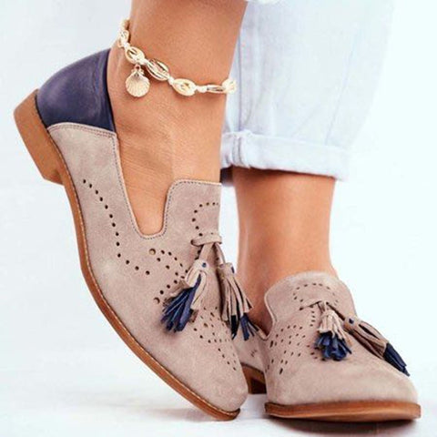 Round toe shoes for women