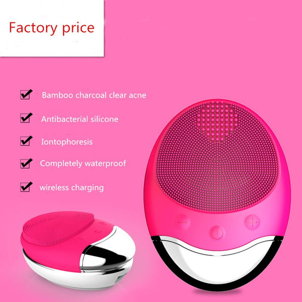 Professional Facial Cleansing Brush, Electric Facial Cleansing Brush