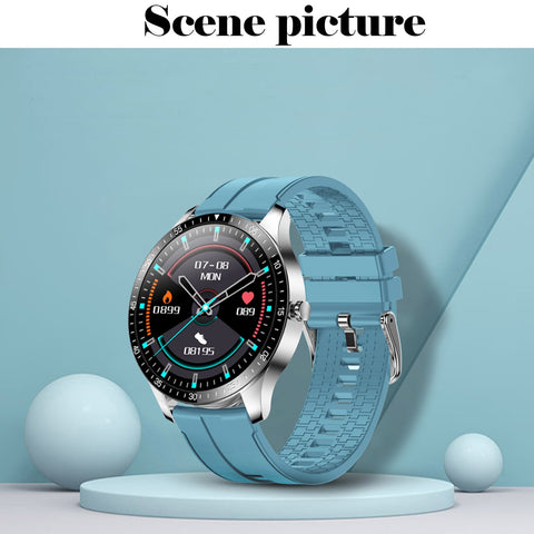 S80 Smart Watch, Fitness Tracker, Ip68 Waterproof Custom Dial, Heart Rate Calls, Sleep Reminder