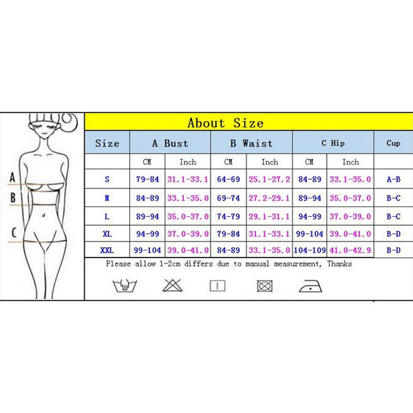 Large Size Swimsuit 2020 Women High Waist Bikini