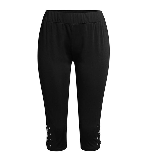 Elastic trousers for women of all sizes