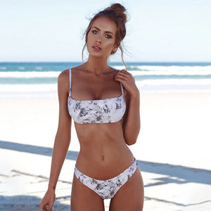 New Solid Sexy Bikini Set Women Swimming Suit Fashion