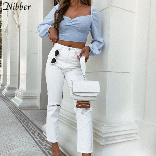 Stylish, romantic, off shoulder t-shirt for women