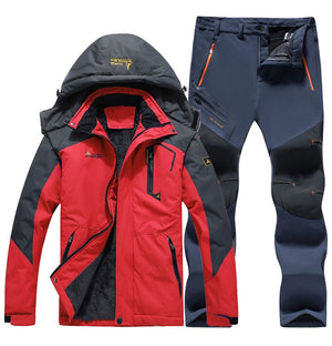 Women Ski Suit Windproof Waterproof Snowboard Jacket Pants