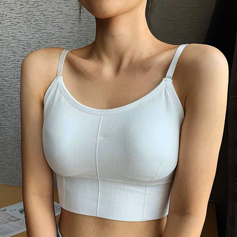 Women Tank Crop Top Seamless Underwear FemaleFashion