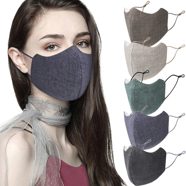 Reusable custom masks pure color face mask