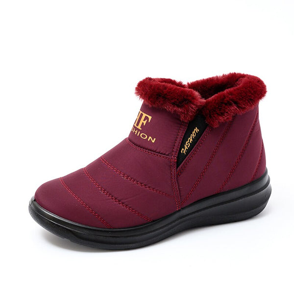 Women boots winter boots woman warm snow boots women ankle boots