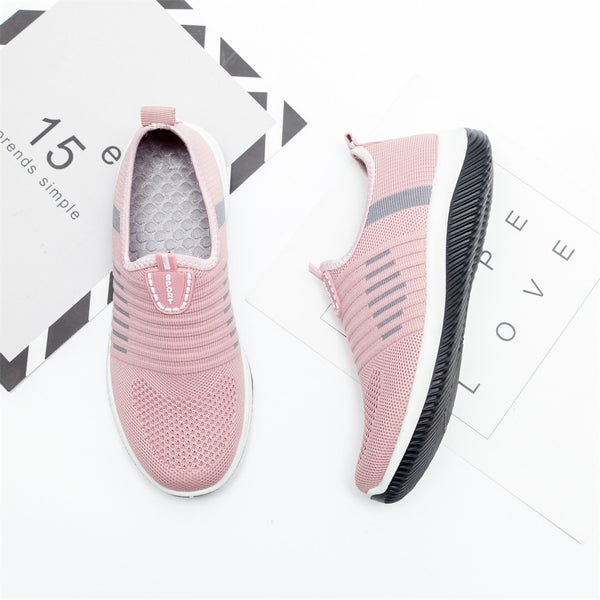Women's knit flat shoes Sneaker