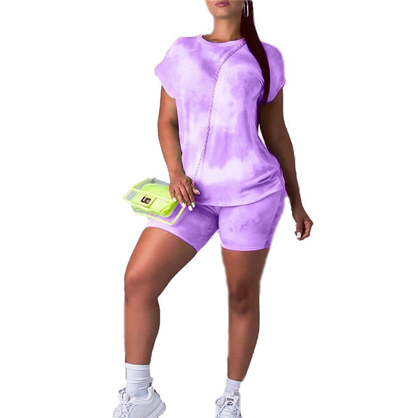 Sportswear for women new short two pieces