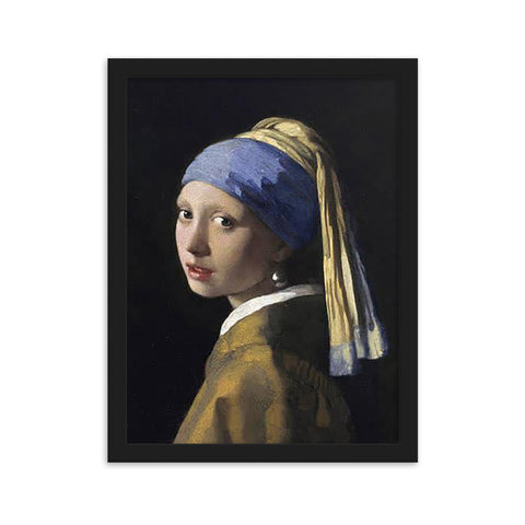 The Girl With a Pearl Earring – Jan Vermeer - Wonderful reproduction print
