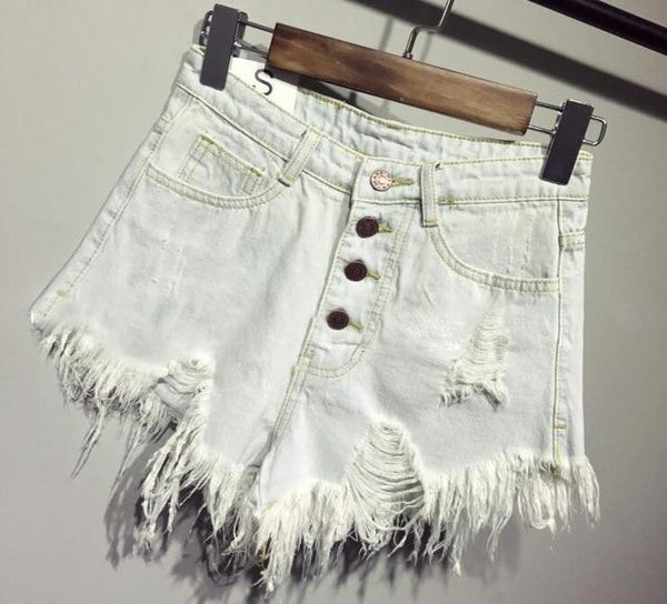 female fashion casual summer cool women denim Shorts