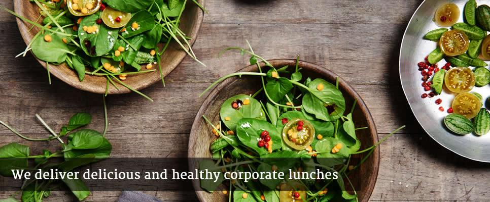 We deliver delicious and healthy corporate lunches