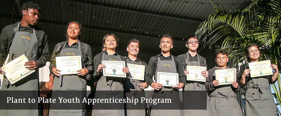 Plant to Plate Youth Apprenticeship Program