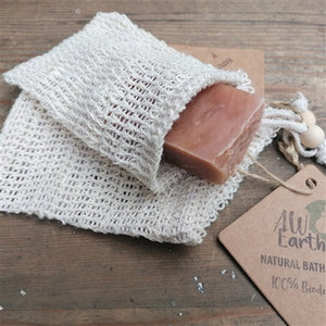 SOAP BAG WASHED JUTE