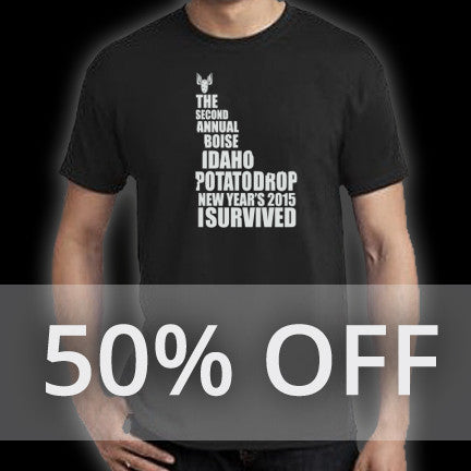 I Survived Male Tee Shirt