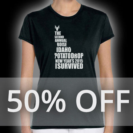 I Survived Female Tee Shirt
