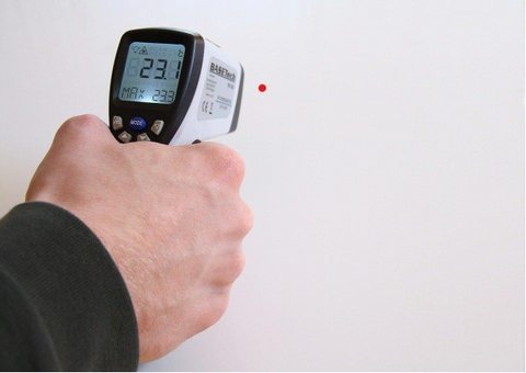 use of infrared thermometers