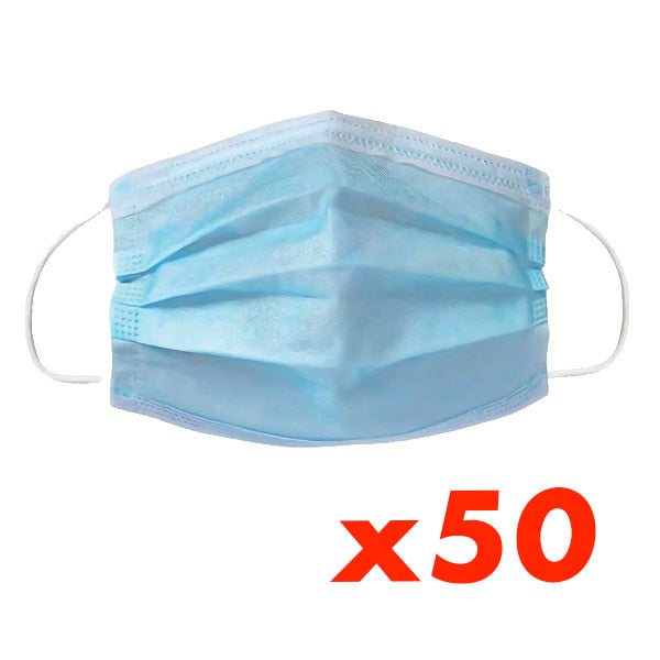 50 Disposable Masks set