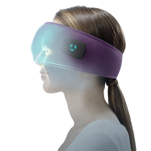 Dreamlight Blackout Sleep Mask with Bluetooth