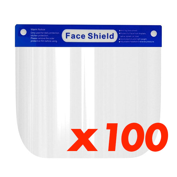 Set of 100 Face Shield
