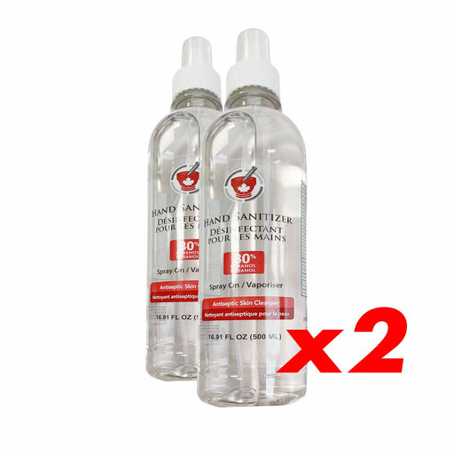 2 Pack - Liquid Sanitizer 500ml