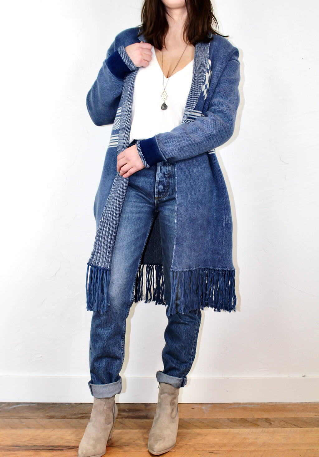 Lovestitch High Desert Fringe Cardigan