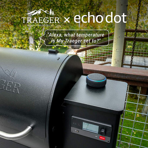 Traeger Smart Grill with Echo Dot