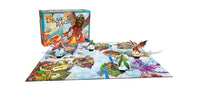 DRAGON RACE THE GREAT BOARD GAME