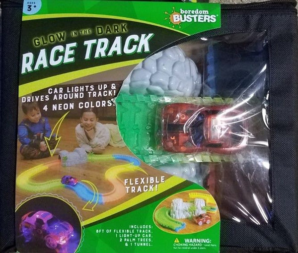 BORDEM BUSTERS - GLOW IN THE DARK RACE TRACK