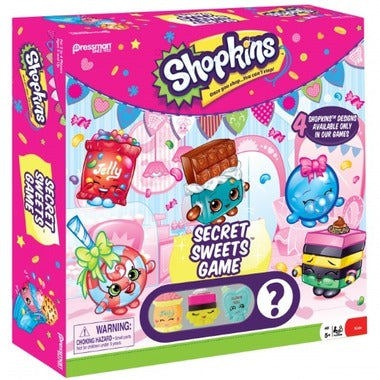 SHOPKINS - SECRET SWEETS GAME