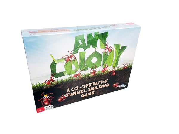 ANT COLONY - A CO-OPERATIVE TUNNEL BUILDING GAME