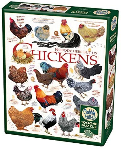 COBBLE HILL PUZZLE - CHICKEN QUOTES