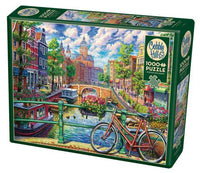 COBBLE HILL PUZZLE - AMSTERDAM CANAL