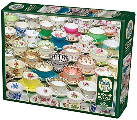 COBBLE HILL PUZZLE - TEACUPS