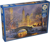 COBBLE HILL PUZZLE - WINTER IN THE PARK - 1000 PC