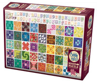 COBBLE HILL PUZZLE - QUILT BLOCKS - 2000 PC
