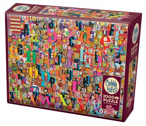 COBBLE HILL PUZZLE - SHELLEY'S ABC - 2000 PC