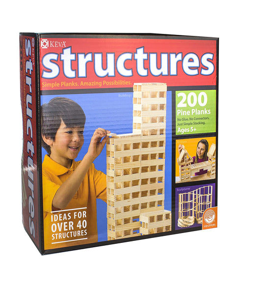 KEVA - STRUCTURES - 200 PC