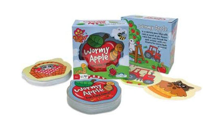WORMY APPLE - FUN CARD GAME
