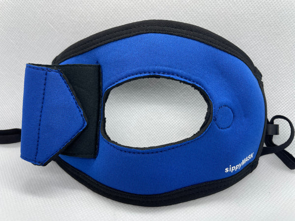 Child sippyMASK (Blue) w/ Adjustable Ear Loops