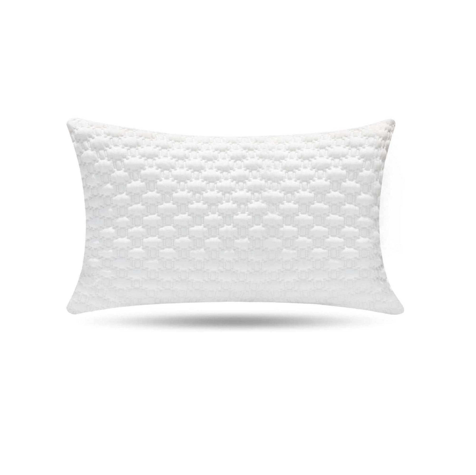 Milemont Shredded Memory Foam Pillow, Bed Pillows, Pillow for Sleeping – Support Side Back Stomach Sleepers