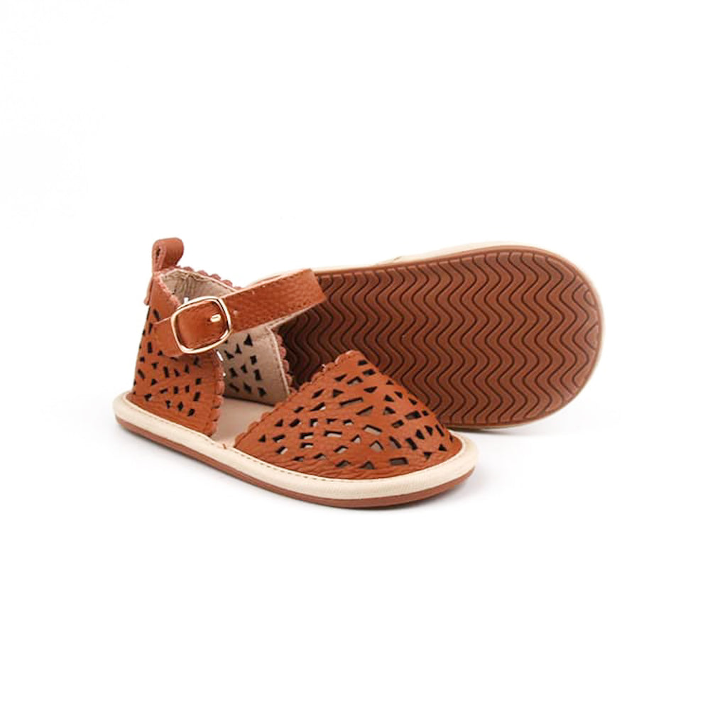 Aaliyah Sandals - Brown
