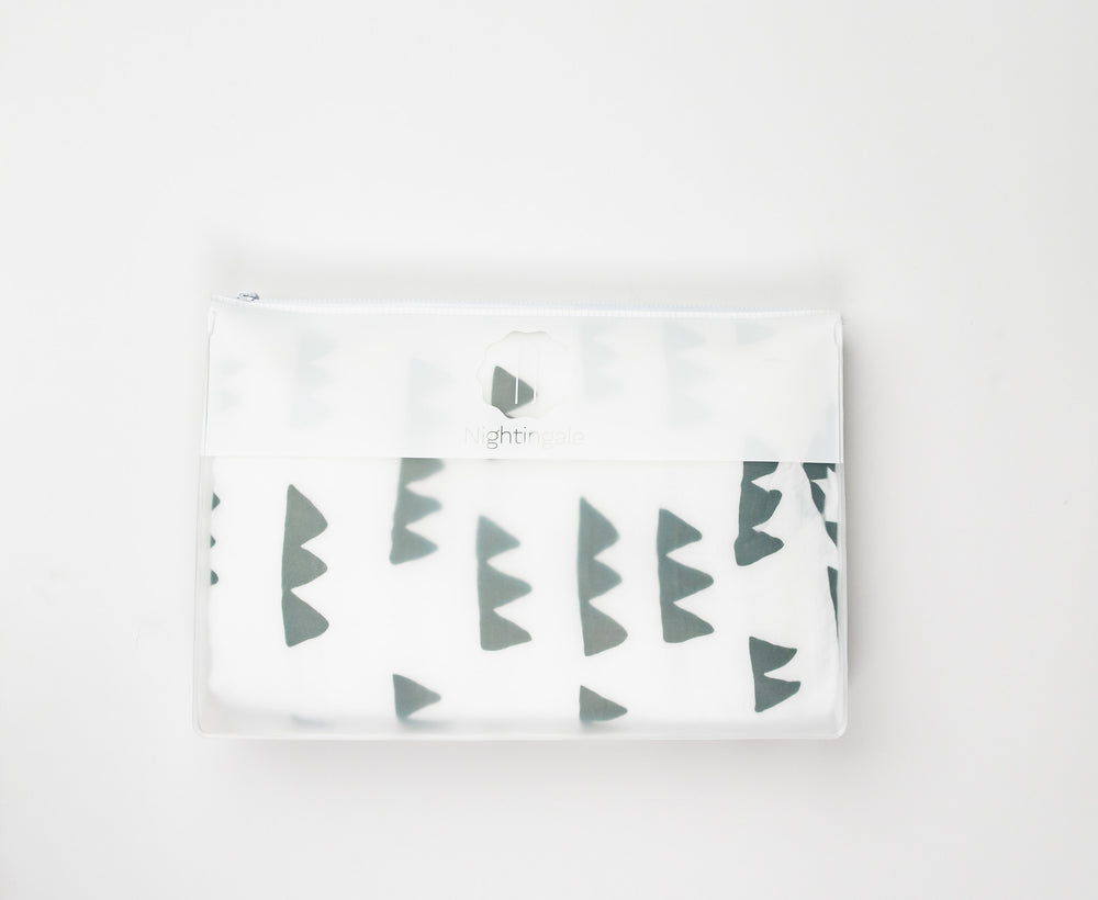 Nightingale Toddler Muslin Blanket - Mountain