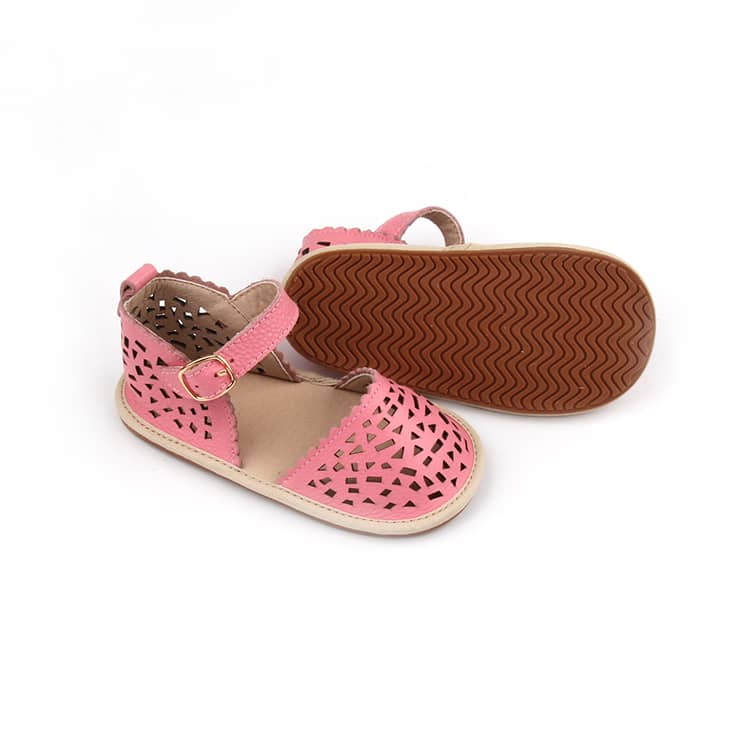 Aaliyah Sandals - Flamingo Pink