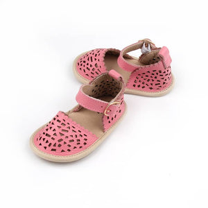 Load image into Gallery viewer, Aaliyah Sandals - Flamingo Pink