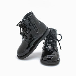 Bliss Boots - Black Patent