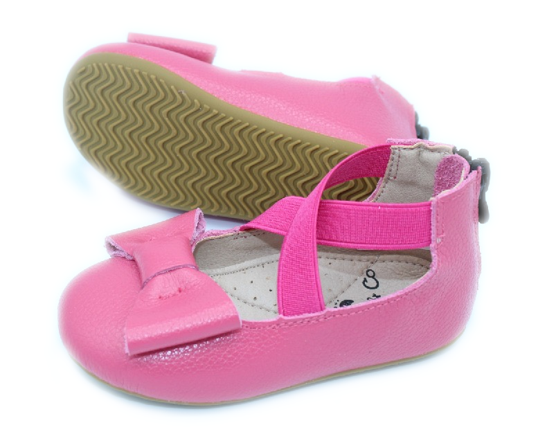 Load image into Gallery viewer, Eyleen Bow Ballet Flats - Fuchsia - rileycoshoes.com