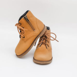 Bliss Boots - Mustard Brown Oil Waxed