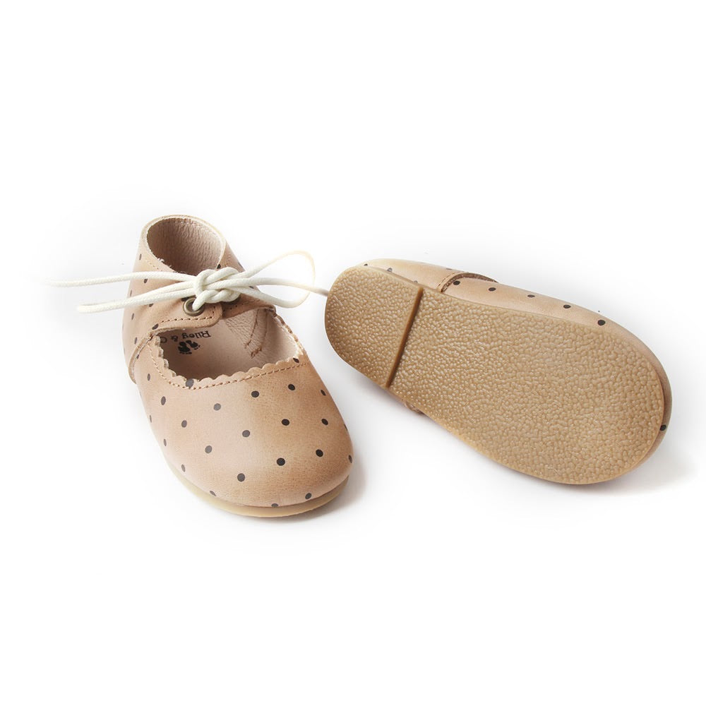 Everly Flats - Oil Waxed - Polka Dot